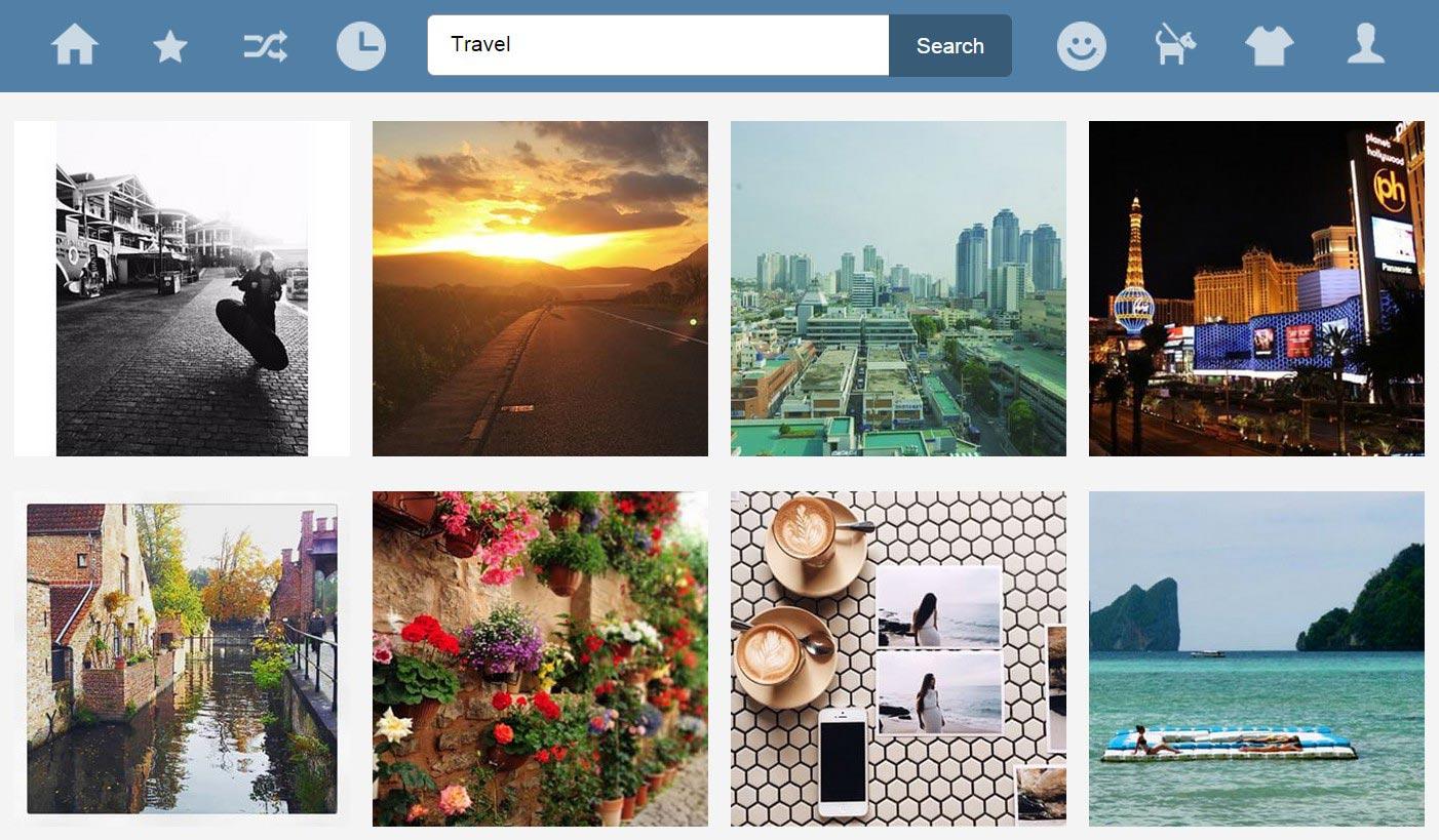 16gram - Web Viewer for Instagram